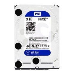 "Disco Duro WD Blue 3TB 3.5"" SATA 6 Gb/s 7200RPM 64MB"