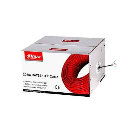 Cable UTP 100% Cobre 24AWG 0,45mm 305Mts